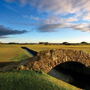 Old Course St Andrews Bridge at 9th hole