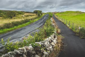 view of road across Islay Scotland